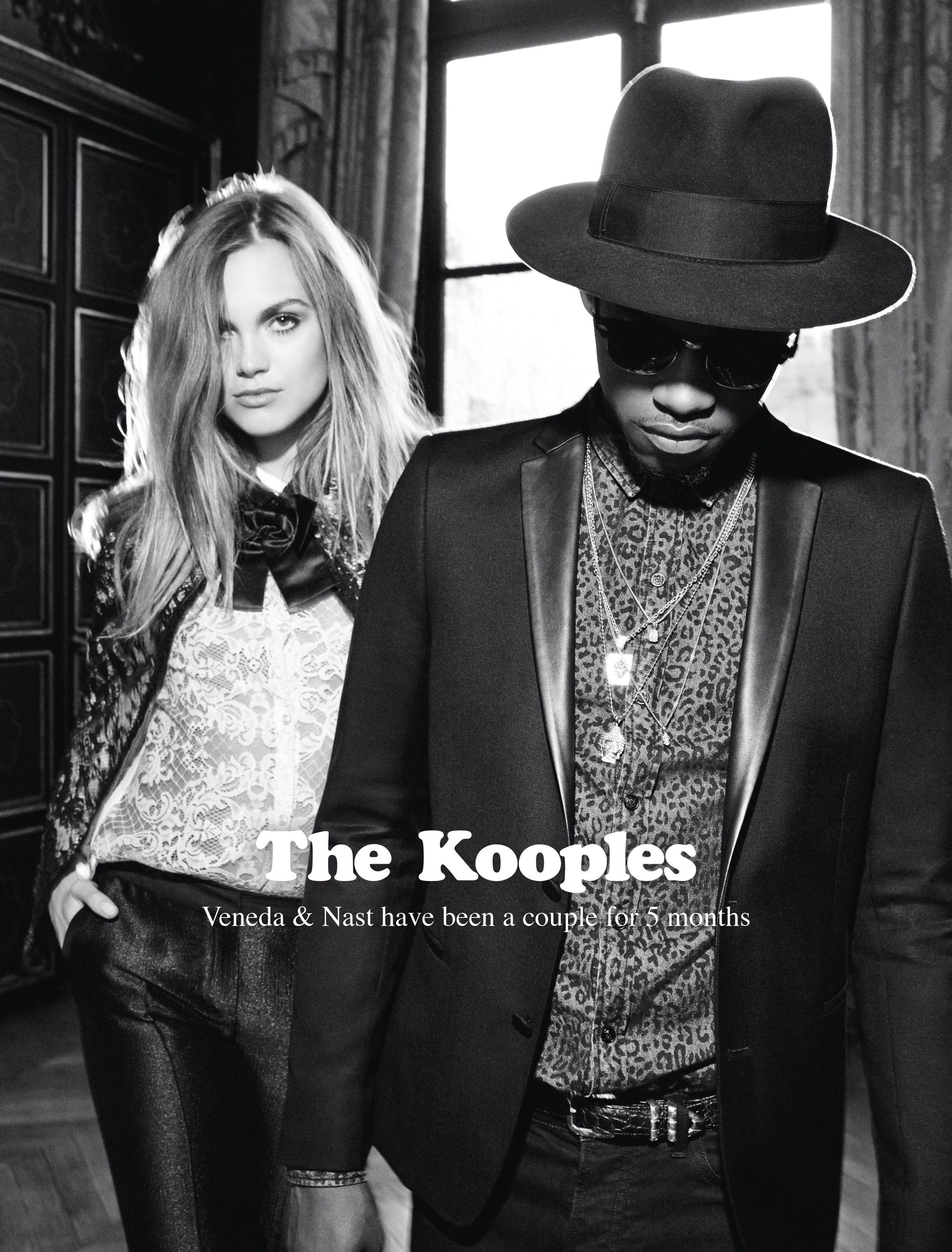 d4a289b33a5 Veneda & Nast for The Kooples FW13 #thekooples #campaign | Stylish ...