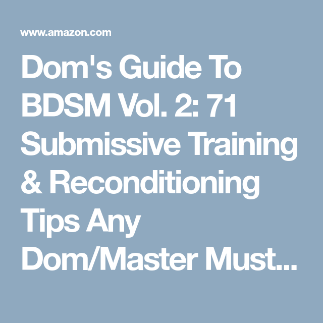 Bdsm dom training — pic 1