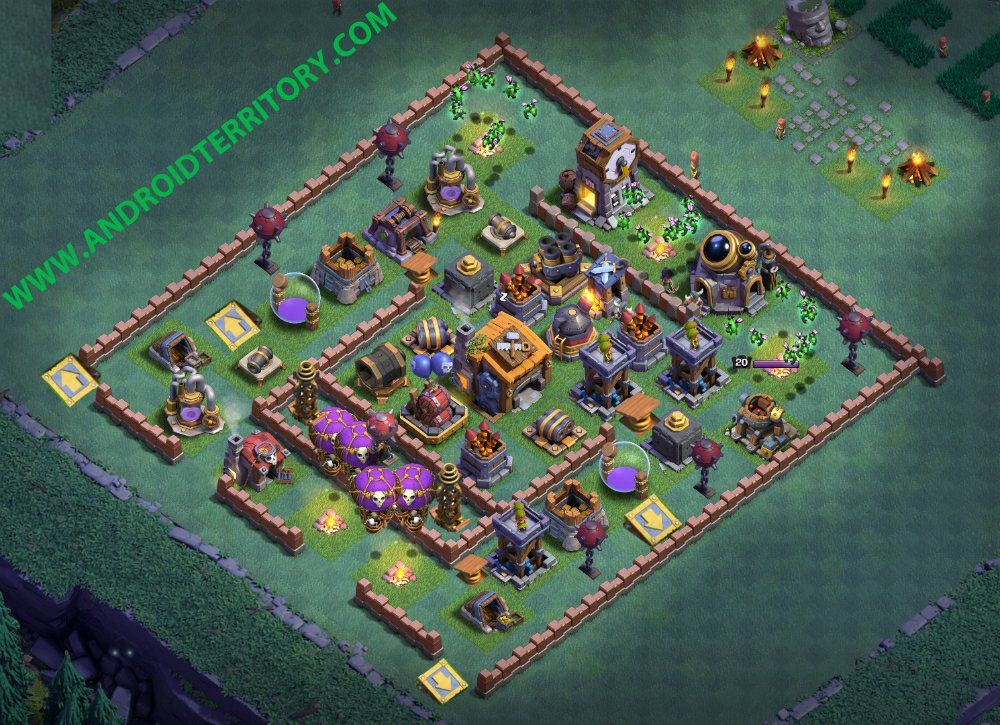Builder Hall 7 Base Builder Base Layout