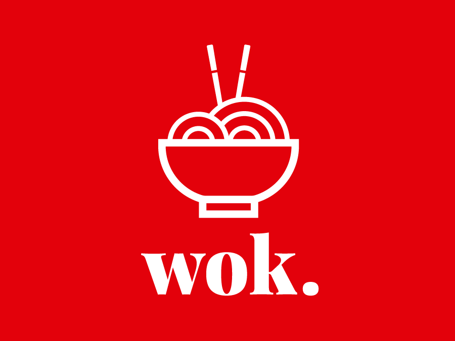 Wok Noodle Deli Logo By Josh Cope On Dribbble Logo Restaurant Wok Noodle Restaurant