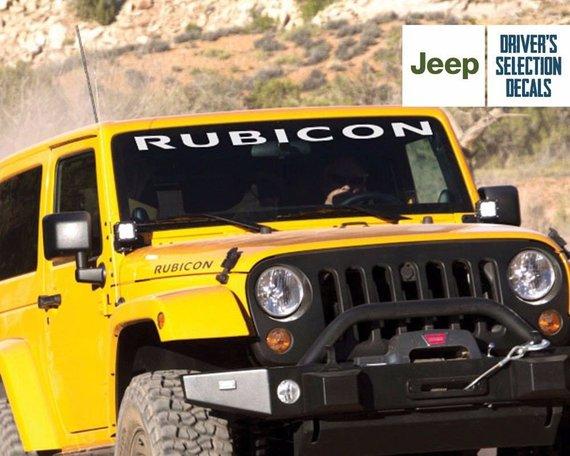 Jeep Wrangler Rubicon Windows And Hood Sticker Decal Graphic Jeep Wrangler Rubicon Wrangler Rubicon Jeep