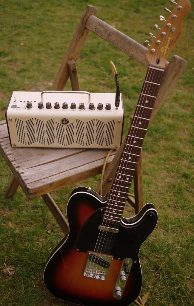 yamaha thr10 portable tube amp ideal for the guitarist on the go guitars and amplifiers. Black Bedroom Furniture Sets. Home Design Ideas