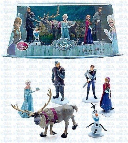 Disney Frozen 6 Piece PVC Set New