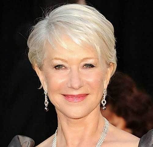 Short Hairstyles For Women Over 50 With Fine Hair Lovely