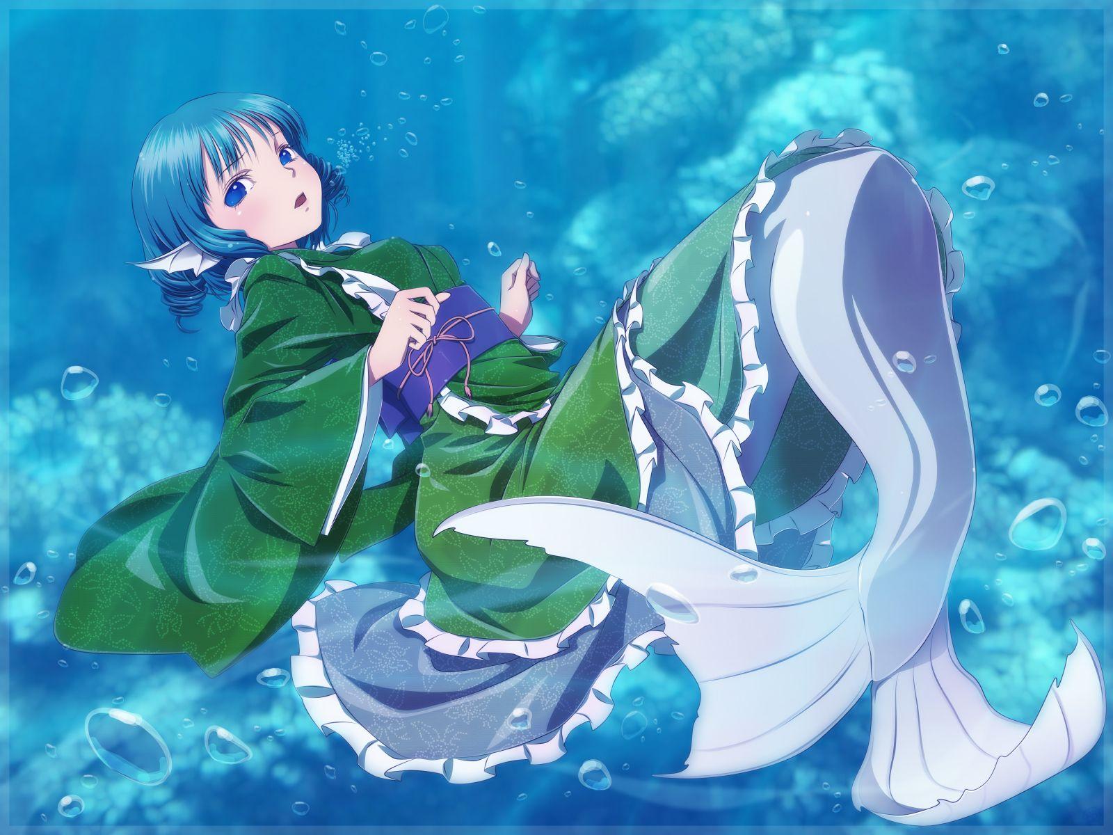 Mermaid anime Anime Mermaid (người cá) ^^ Pinterest