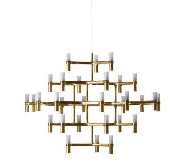 Crown Major Gold   Pendant Lamp