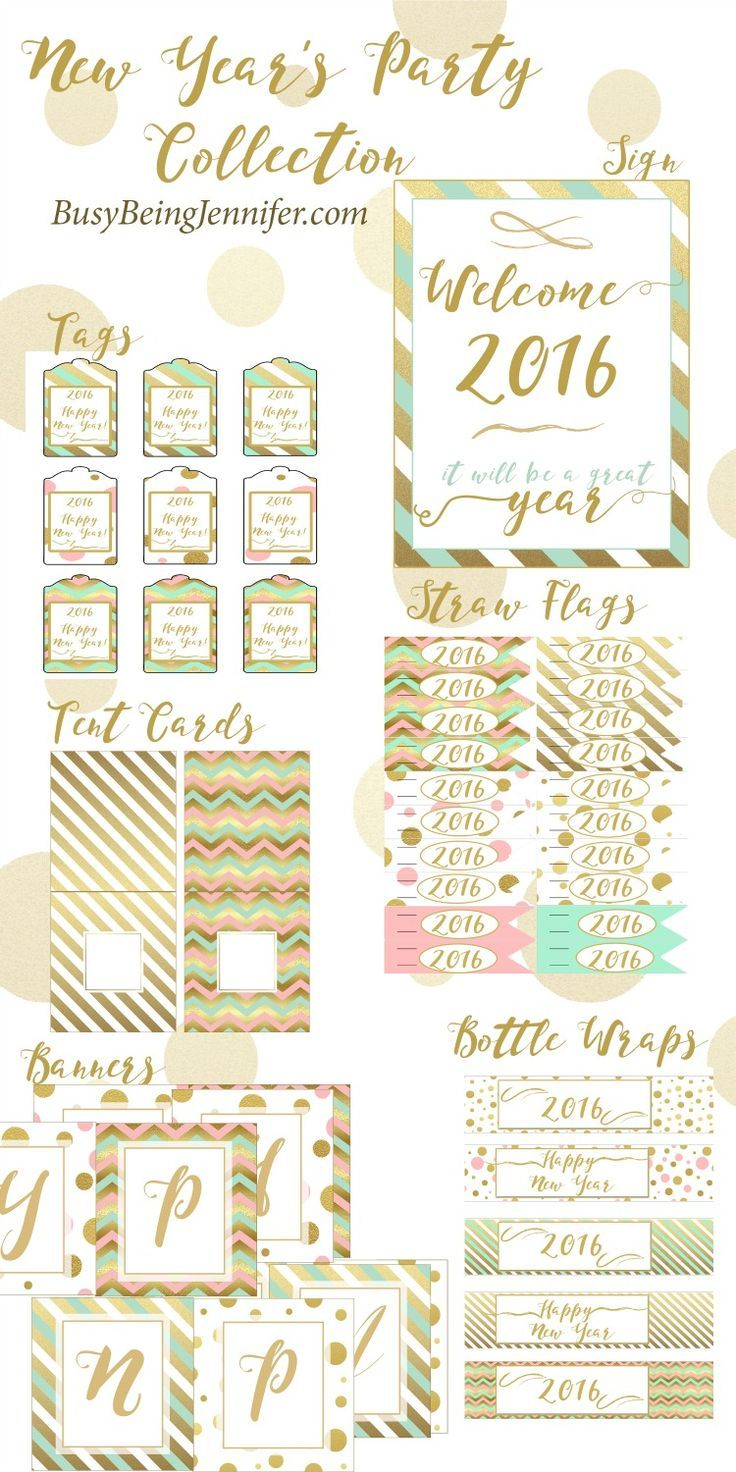 free new years eve printables a giveaway