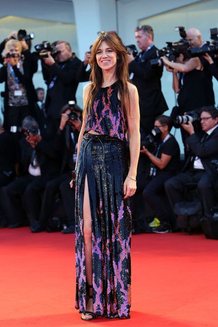 Charlotte Gainsbourg best dressed