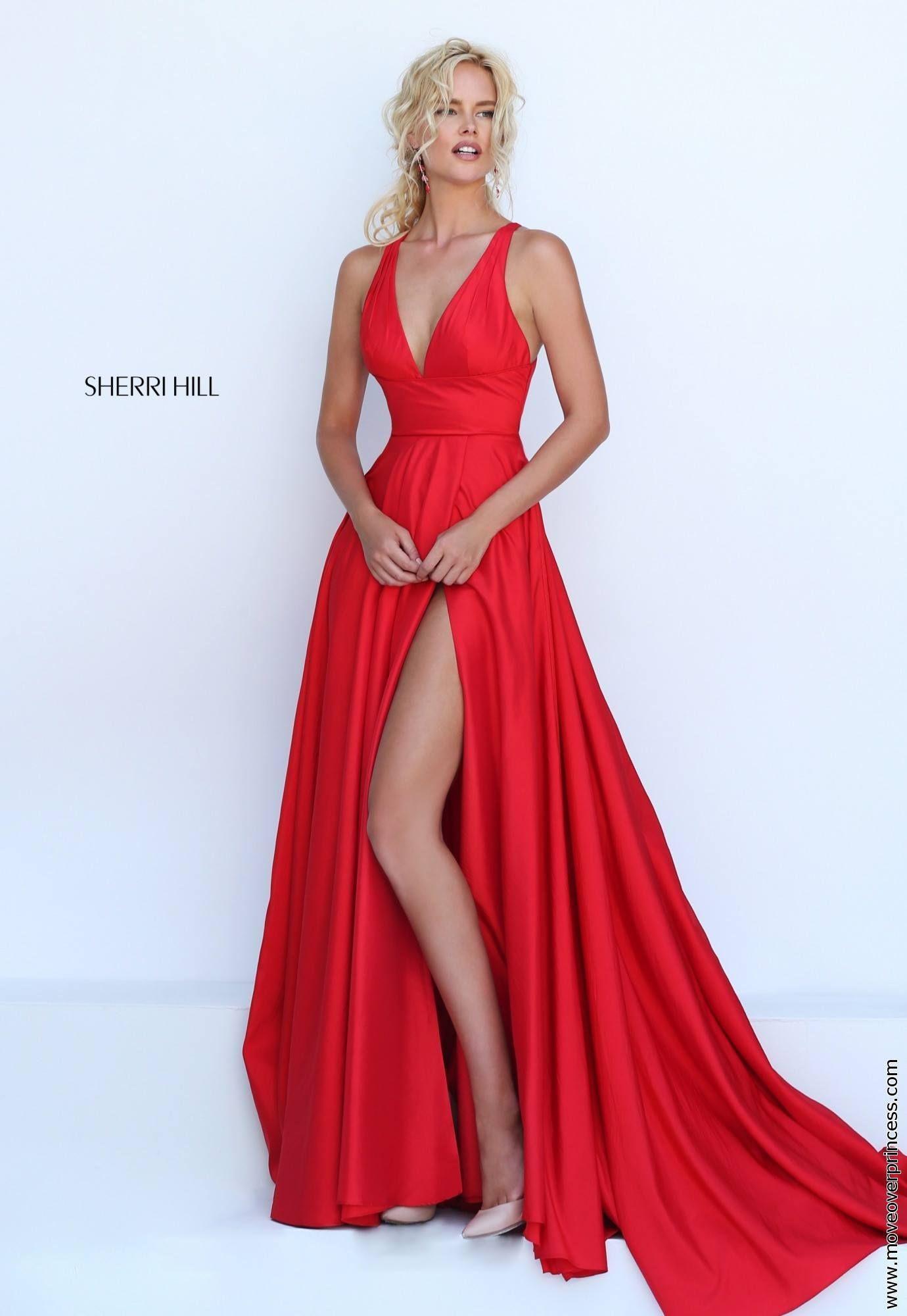 Vestidos rojos para boda en playa