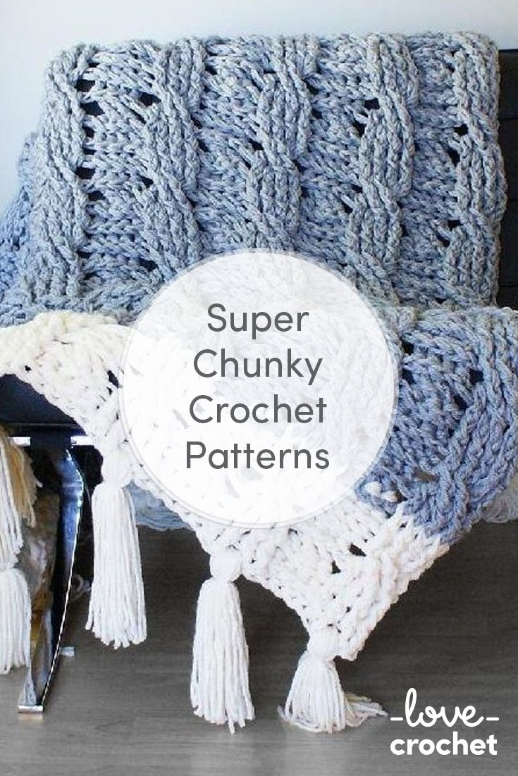 Super chunky crochet
