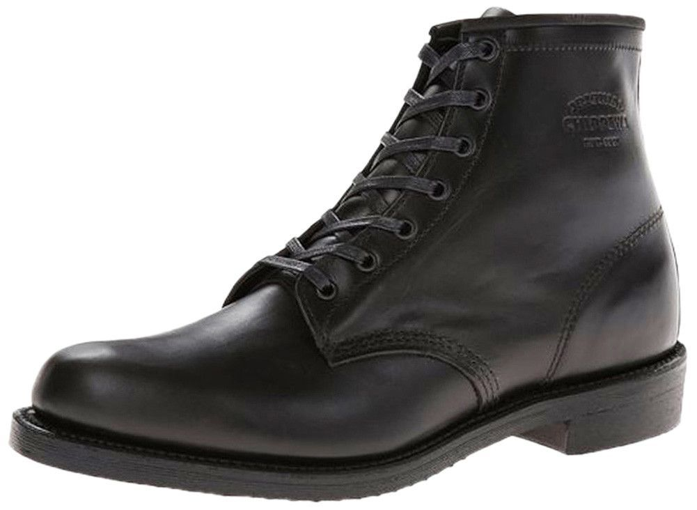 Chippewa 1901m82 mens 6 service police boots leather