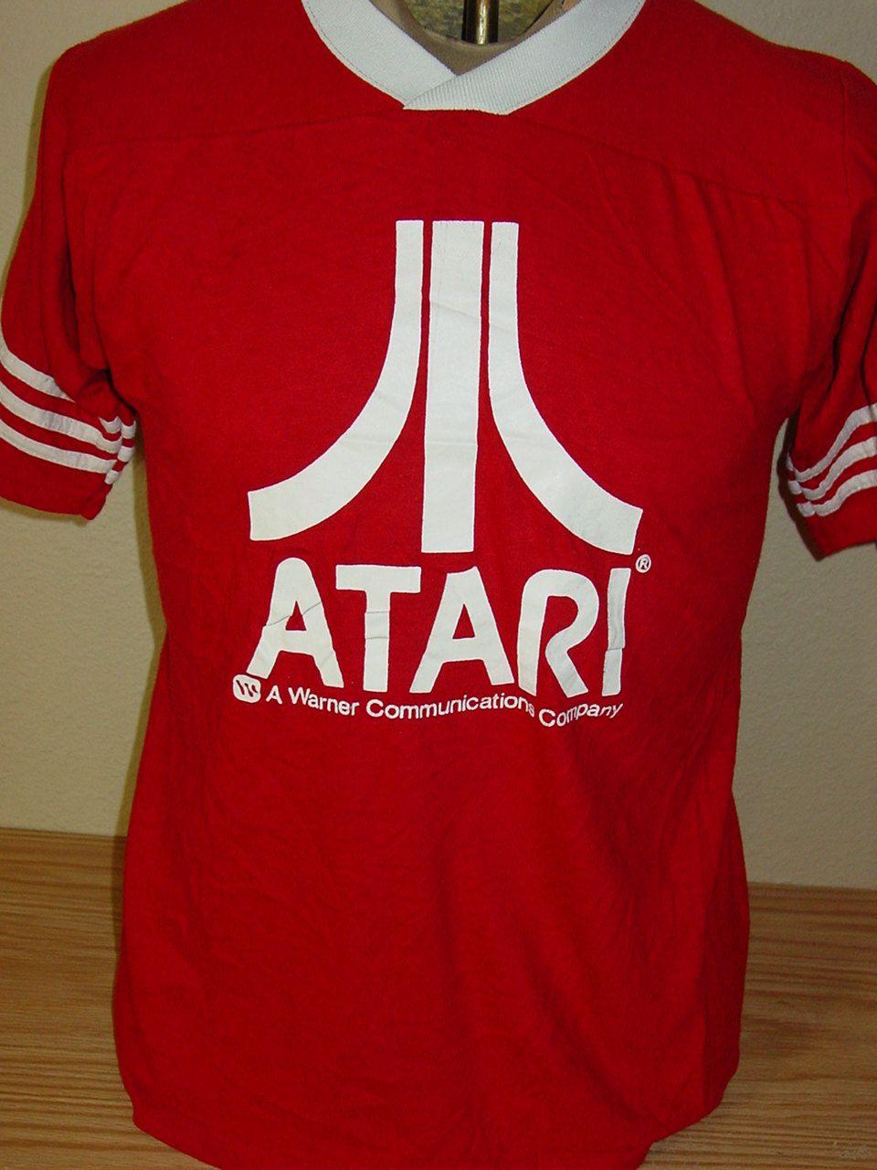 Vintage 1980s Atari jersey t shirt Medium by