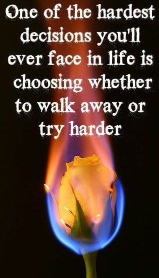 One of the hardest decisions you\u0027ll ever face in life is choosing