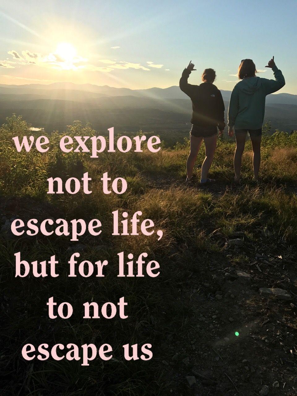 quotes #adventure #friends #nature #exploreME | quotes | Adventure