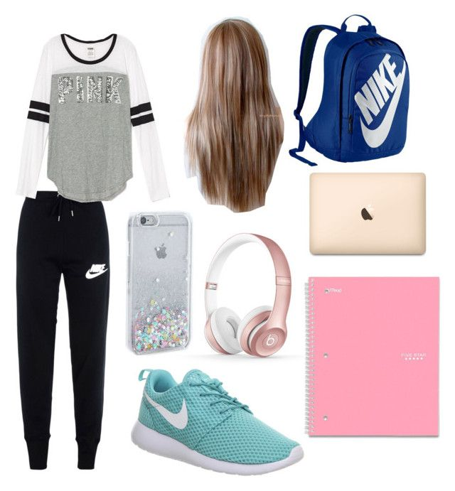 """""""Finals"""" by x90x ❤ liked on Polyvore featuring NIKE and Beats by Dr. Dre"""
