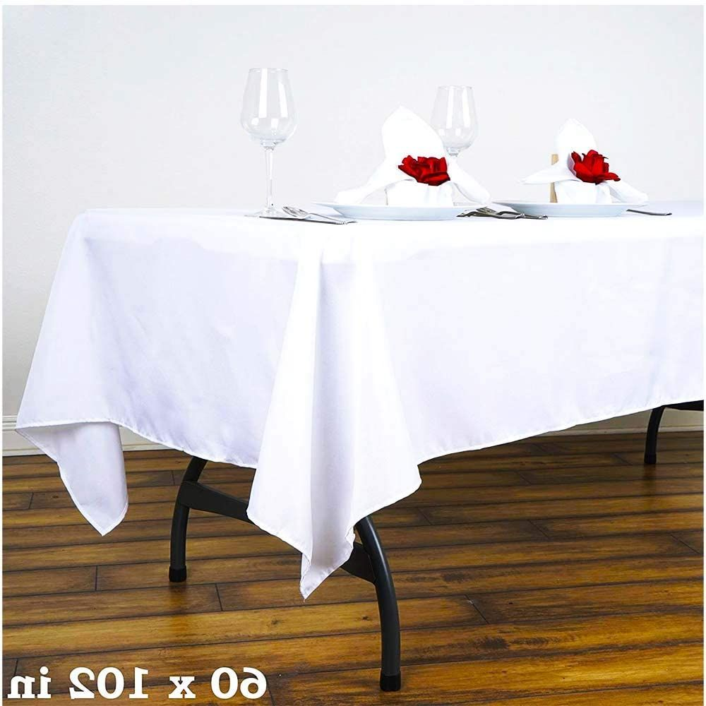 Pin On Polyester Rectangular Tablecloth 6ft 8 Ft Tables