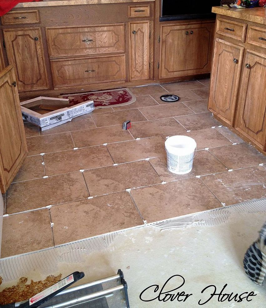 Kitchen and Dining Room Tiling   A Big Mistake You Don't ...