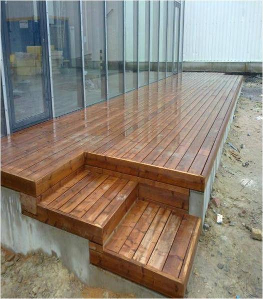 avantjpg Extérieur Pinterest Content - construire sa terrasse bois
