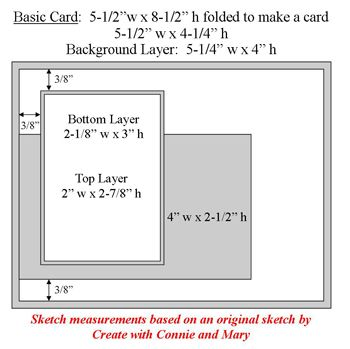 Sketch 7 Card Layout Card Sketches Card Sketches Templates Gatefold Cards