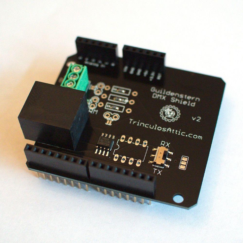 The Guildenstern (Arduino DMX Shield)
