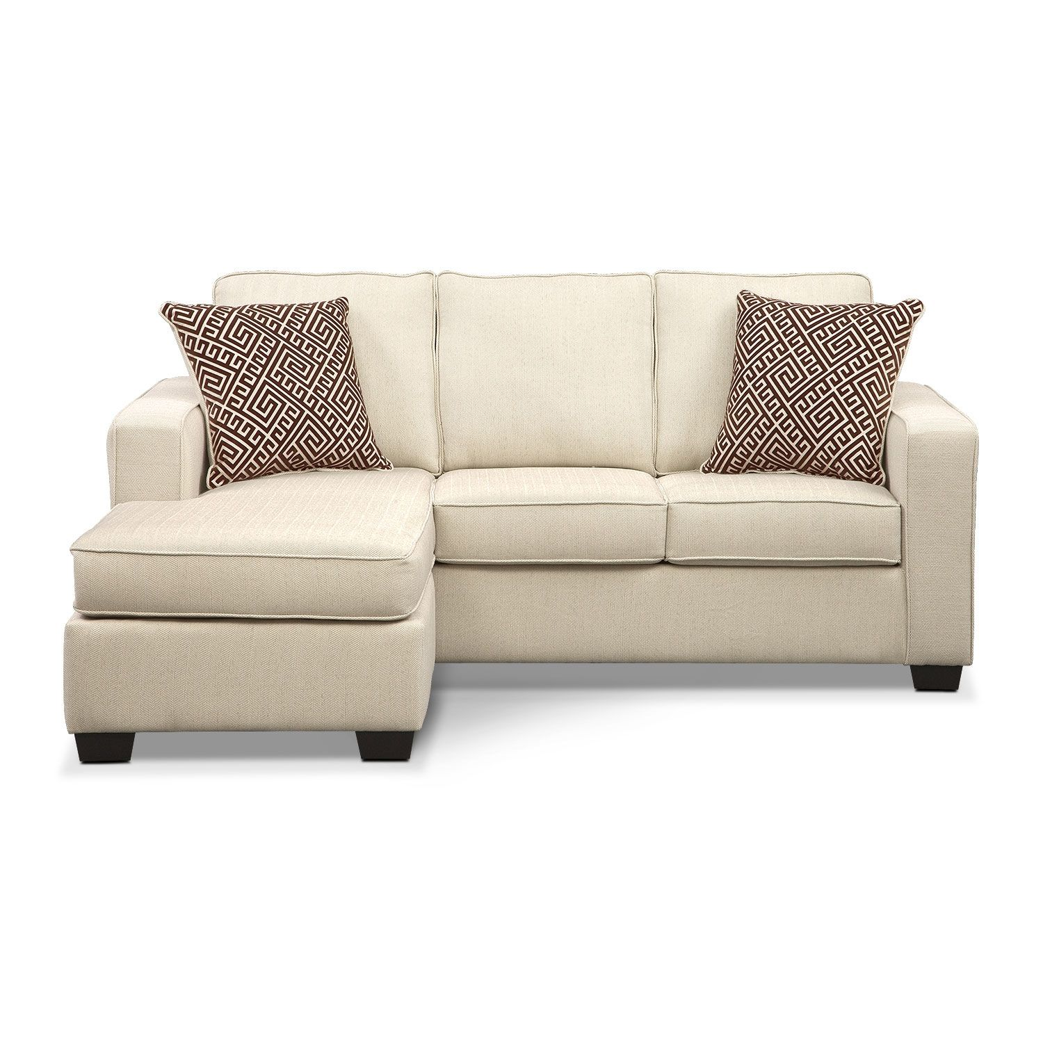 Best Sterling Beige Queen Memory Foam Sleeper Sofa W Chaise 400 x 300