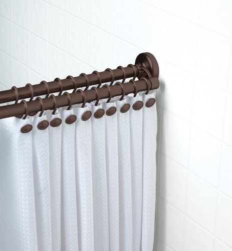 Buy Zenith Adjustable Oil Rubbed Bronze Double Shower Rod 72 Inch In Cheap Price On