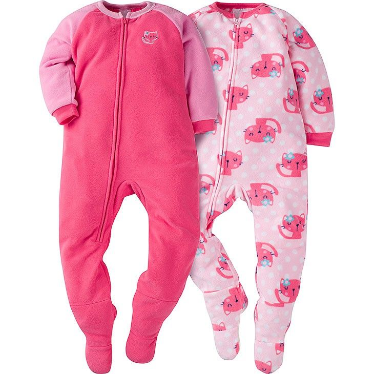 344ba17dad84 Your little girl will be ready to sleep soundly with this 2-pack of ...