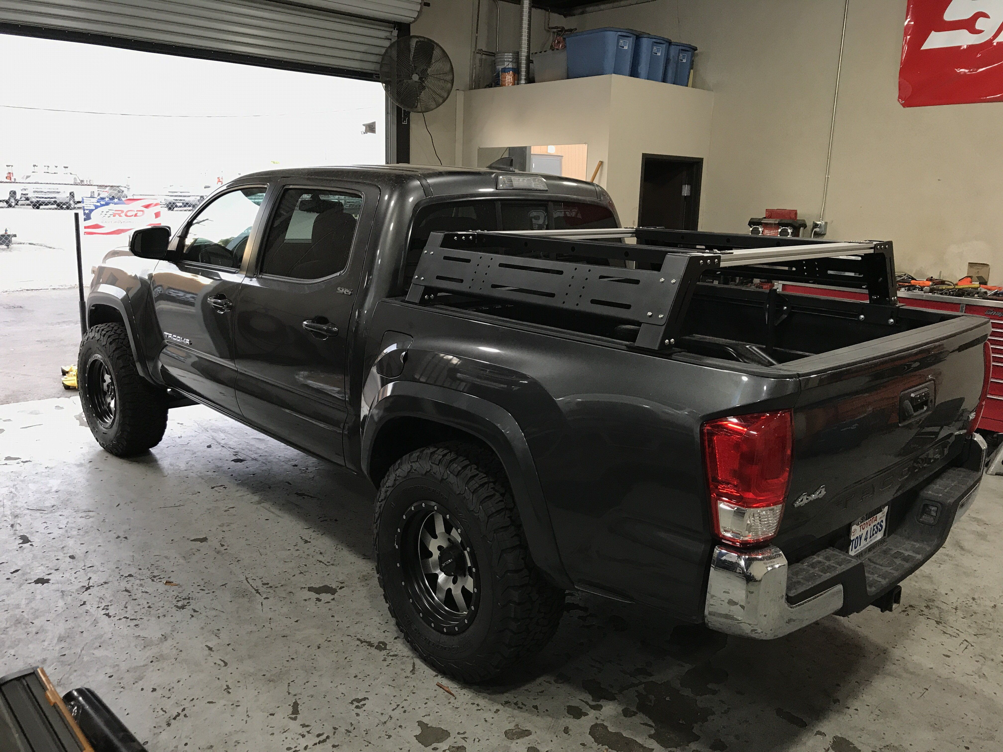 20052020 Toyota Overland Bed Rack Toyota