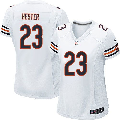 pretty nice 7fe46 0756c Nike Chicago Bears Devin Hester Limited Jersey Women White ...