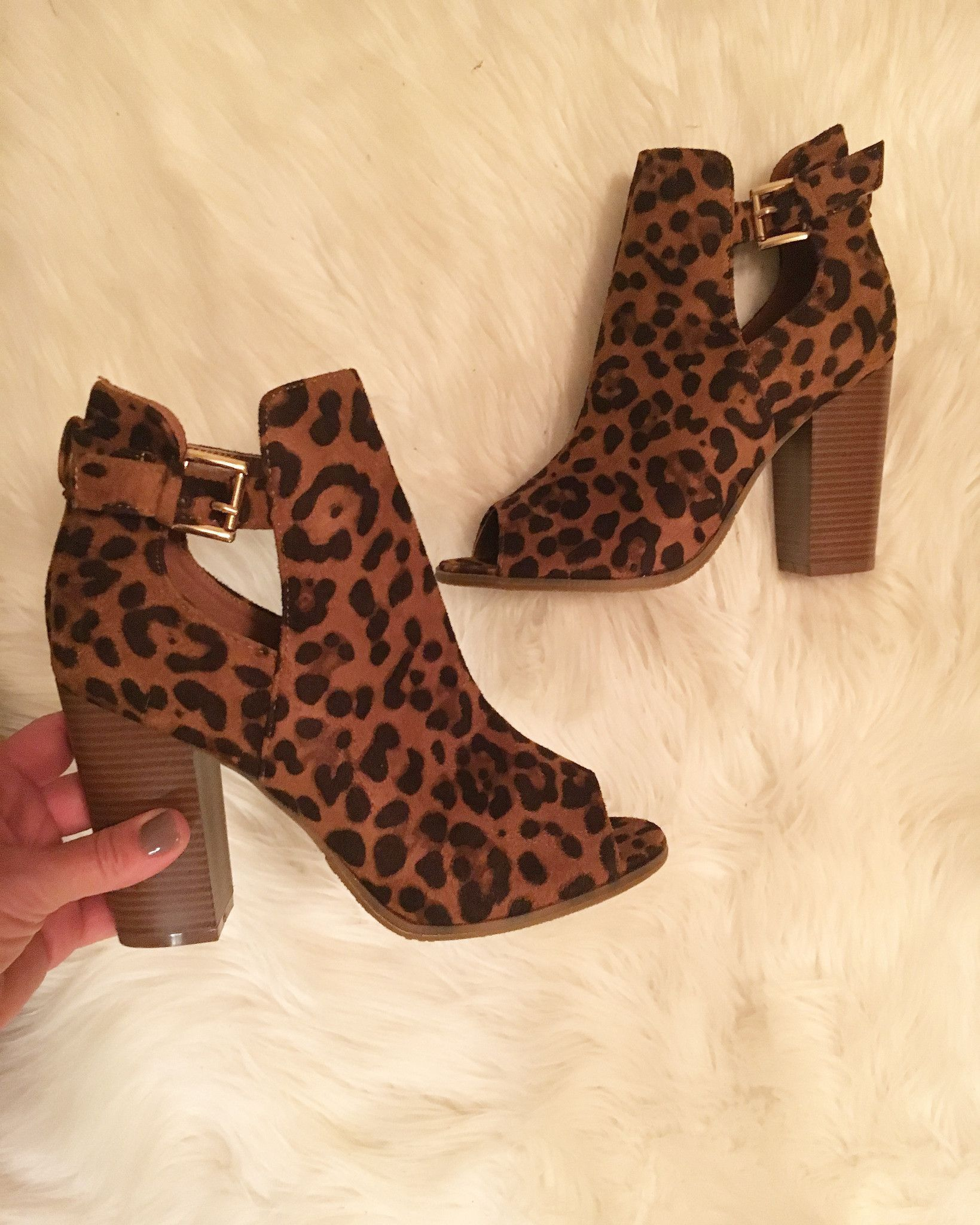 Sassy Suede Booties