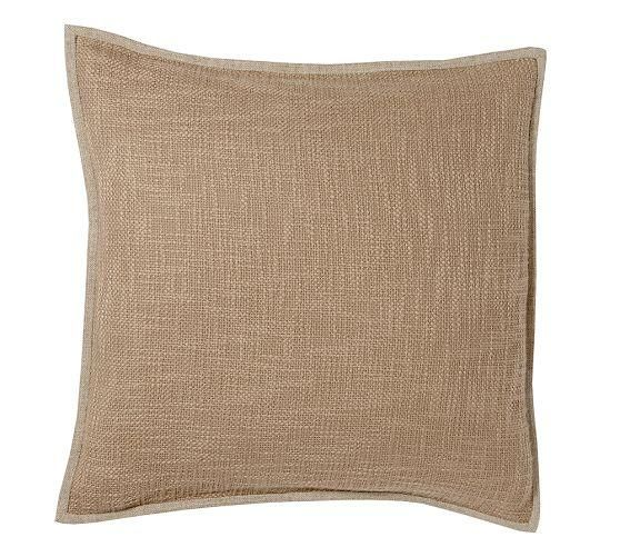 Pottery Barn Pillow Covers 20x20: Basketweave Pillow Cover From Pottery Barn #poachit