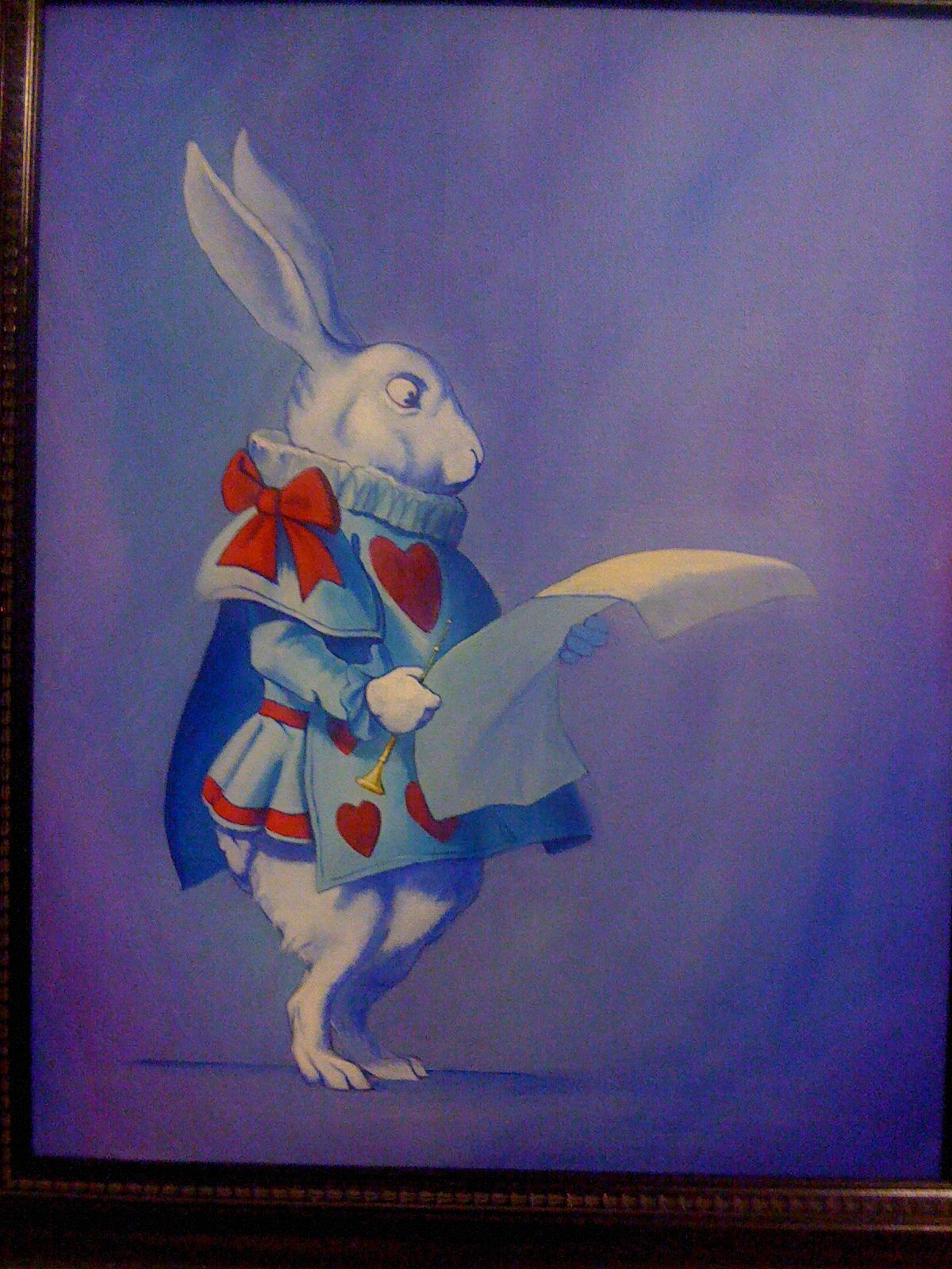 Alice in wonderland collection, Painted By one of my clients.  Price, consultations & request please contact me for more details