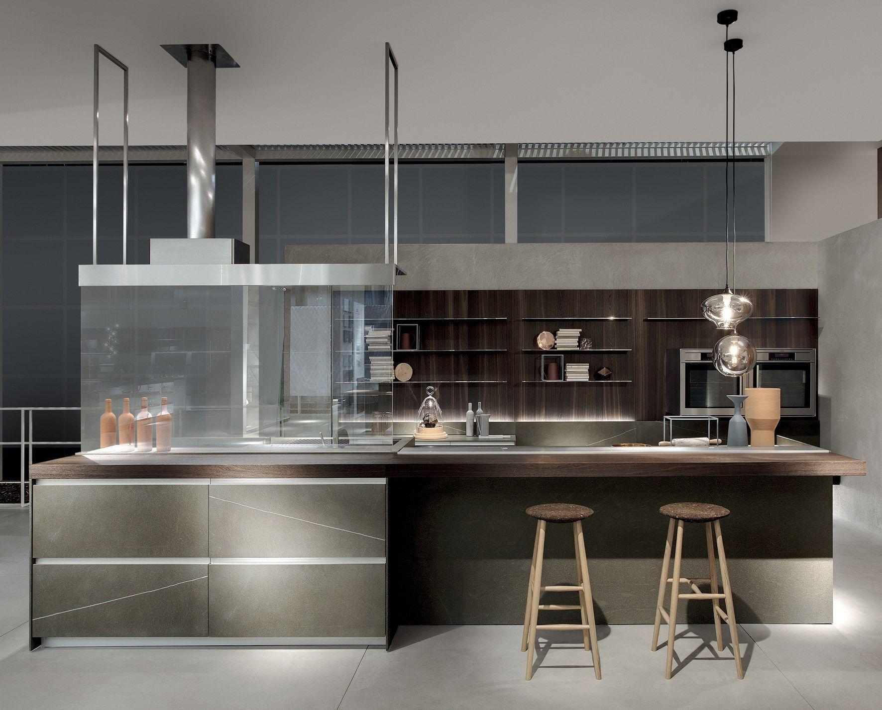 Cucina senza maniglie ICON by ERNESTOMEDA | design Giuseppe Bavuso ...