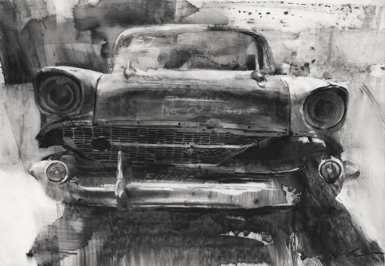 Parts — Michael Kareken American art, Drawing prints
