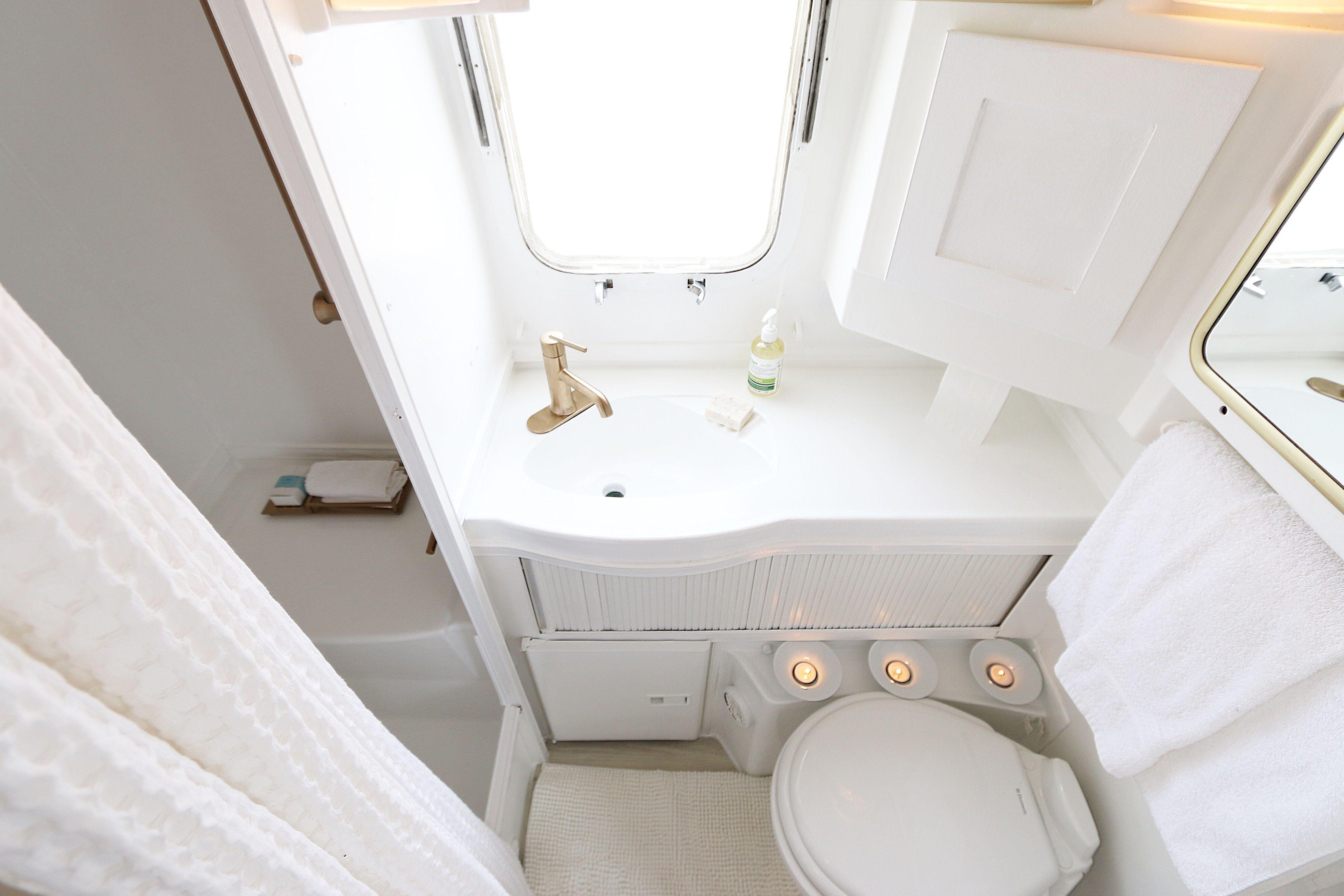 Airstream Bathroom Renovation Httpwwwlynneknowltoncomstart - Starting a bathroom renovation