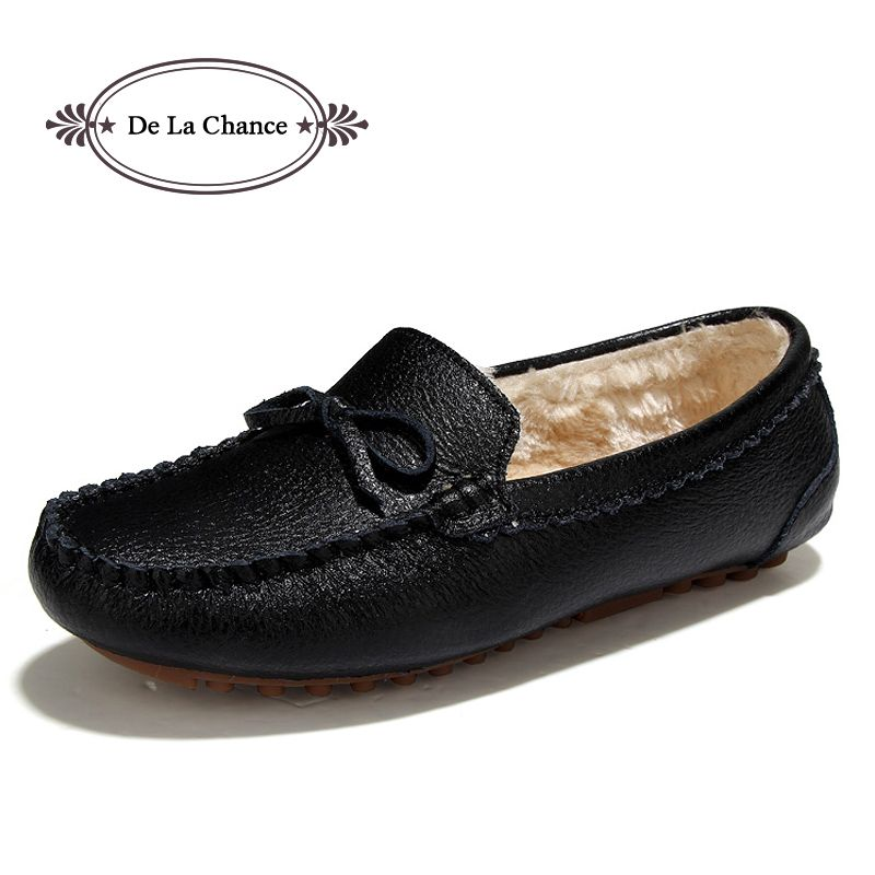 Men's Leather Loafers Women Moccasins Shoes Slip On Flats Boat Shoes
