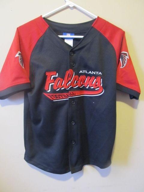 Reebok Atlanta Falcons Baseball Jersey  ca0fa9797