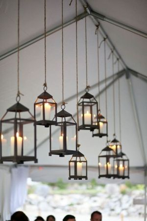 Creative Lighting Options for your Wedding Day | Hanging lanterns ...