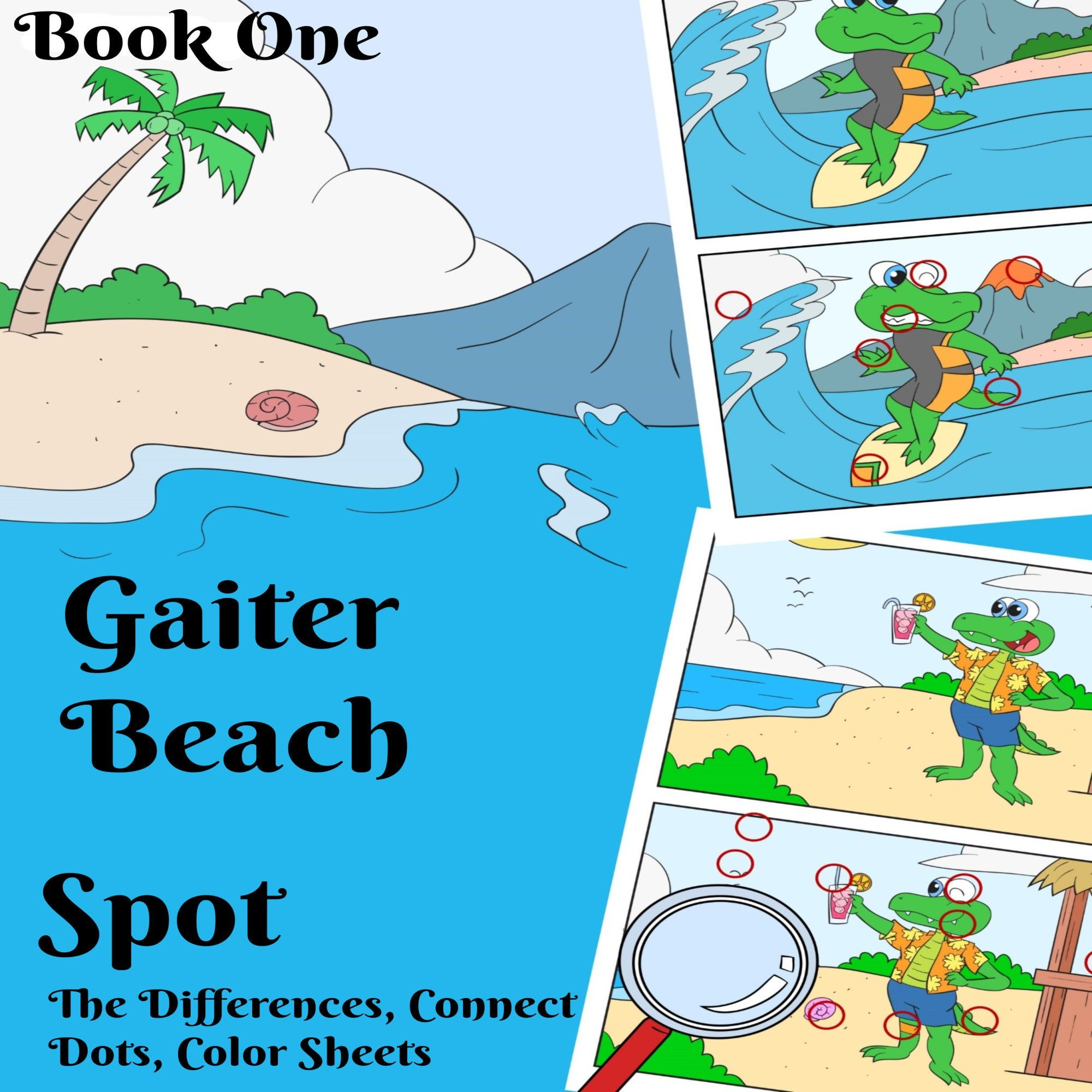 Spot The Difference Games Kids Activity Book Dot To Dot
