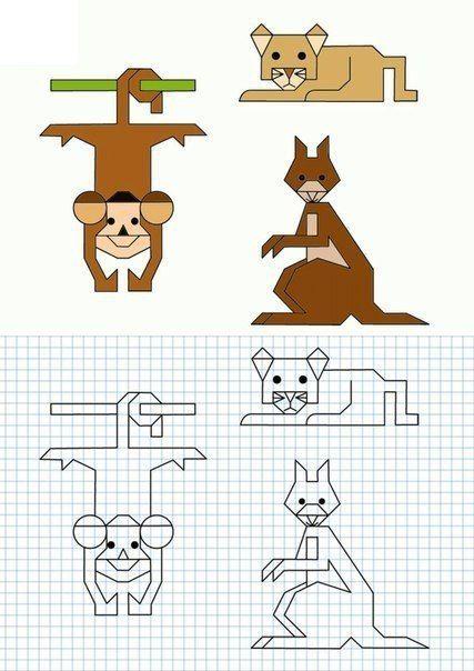 Новости | Математика искусство, Пиксельные изображения ...