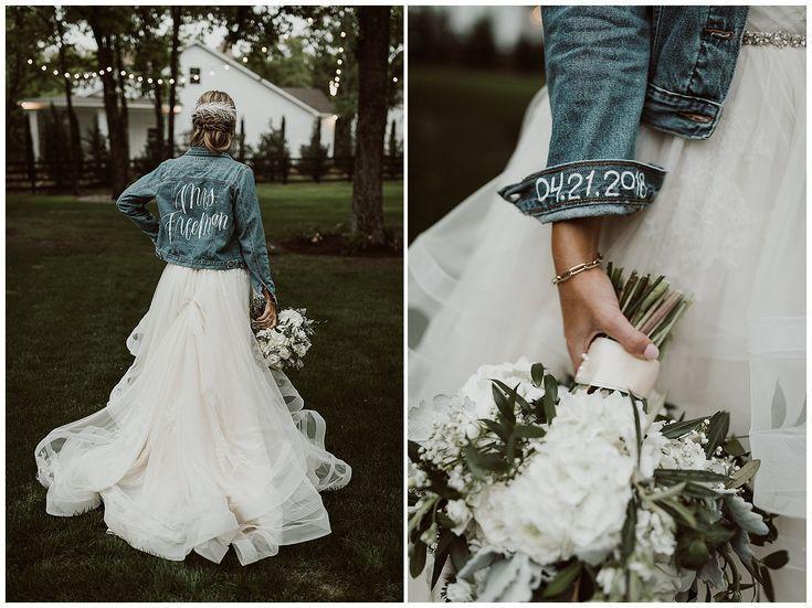 Liebe Den Rucken Konnte Ohne Die Manschette Gehen Megan Und Bobby Hochzeit Das Weiss Hochzeitstrends Hochzeit Hochzeit Jacke Kleider Hochzeit