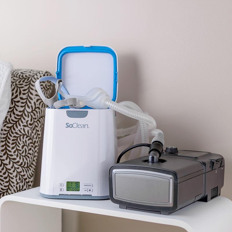 Soclean 2 Cpap Ozone Cleaner And Sanitizer Sleep Apnea What Causes Sleep Apnea Cpap Mask