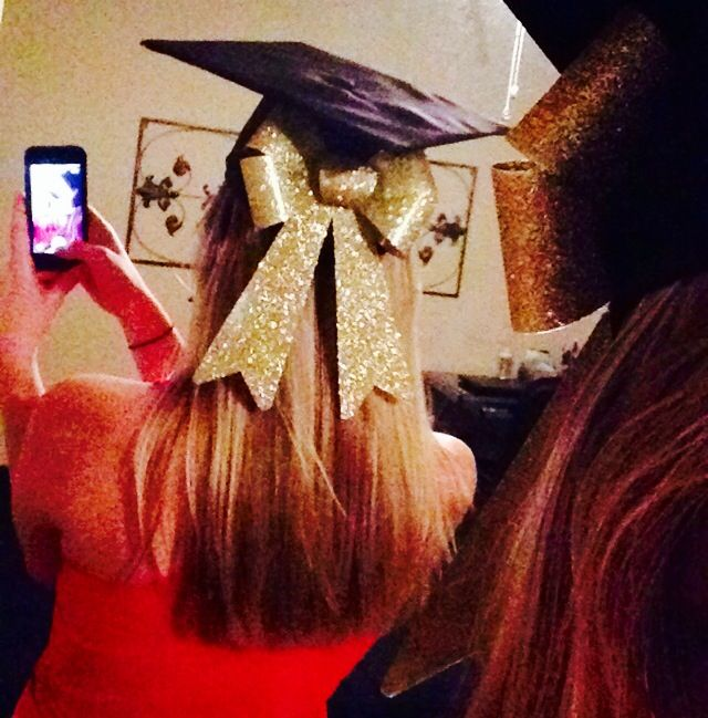 bow for graduation cap ucf crafts such pinterest grad cap