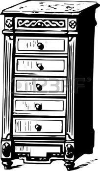 Armoire Dessin armoire dessin: table de chevet classique | ateliers | primitive