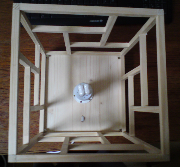 DIY: Building A Japanese Shoji Style Ambient Lamp U2013 The Nerd Way | Fomori