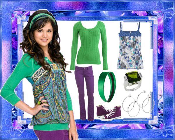 """dress like Alex Russo!!"" by selenagfan ❤ liked on Polyvore"