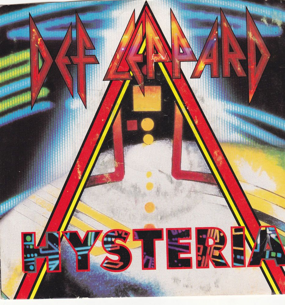 Def Leppard Hysteria Ride Into The Sun 7 Vinyl 45 Rpm Jukebox Record Picture Sleeve Deflepp Def Leppard Songs Def Leppard Hysteria Def Leppard Albums