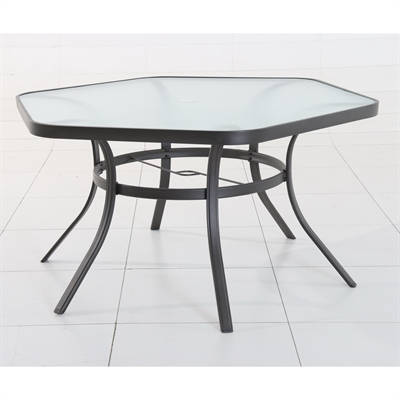 Garden Treasures Ashville Hexagonal Patio Dining Table