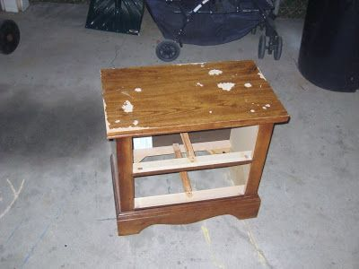 Crystal S Craft Spot How To Paint Particleboard Furniture Pinning For The After Pic
