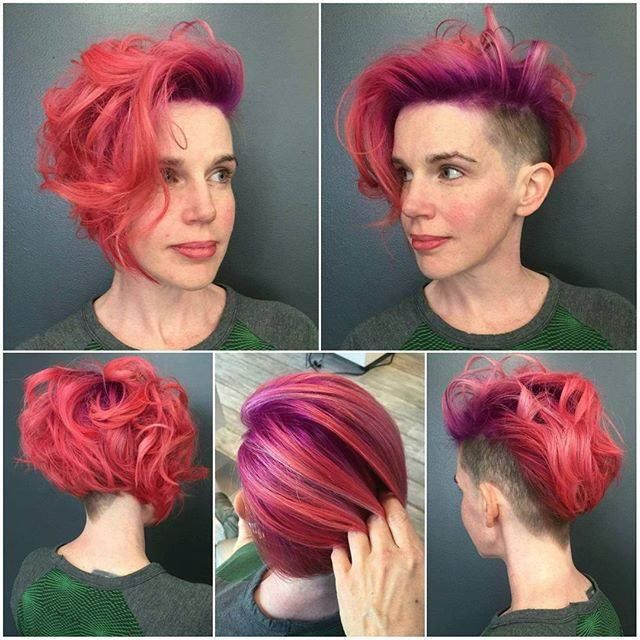 pretty hair style hairdare hairstyle trend hair undercuts 3736